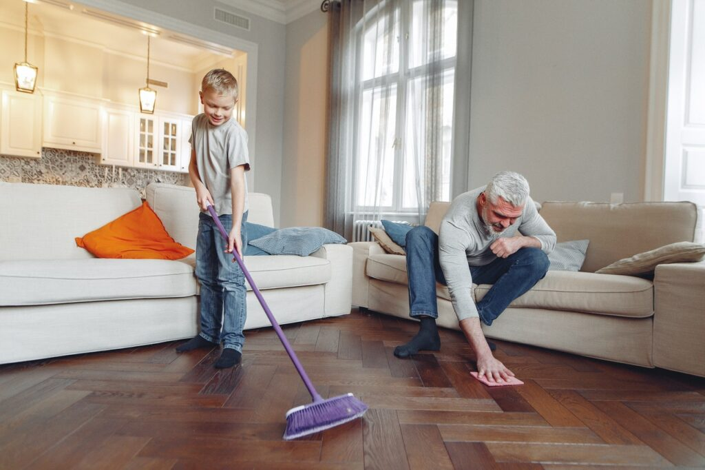 Cleaning before moving in Tampa Bay moving company